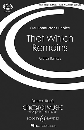 That Which Remains : SATB : Andrea Ramsey : Andrea Ramsey : Sheet Music : 48022955 : 884088944438