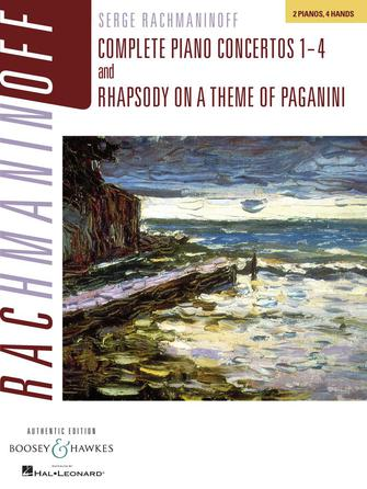 Product Cover for Complete Piano Concertos Nos. 1-4 & Rhapsody on a Theme of Paganini