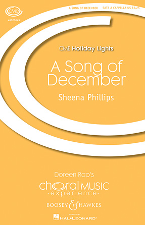 A Song of December : SATB : Sheena Philips : Sheet Music : 48023049 : 884088960704