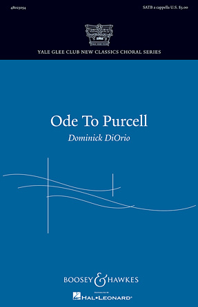 Ode to Purcell : SATB : Dominick DiOrio : Henry Purcell : Sheet Music : 48023054 : 884088960759