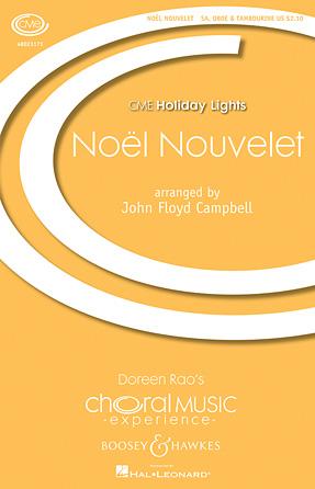 Noel Nouvelet : SA : John Floyd Campbell : Sheet Music : 48023171 : 888680008284