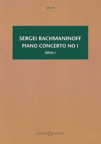 Product Cover for Piano Concerto No. 1, Op. 1