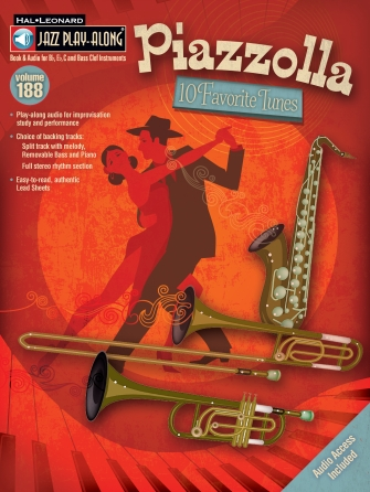 Product Cover for Piazzolla – Ten Favorite Tunes