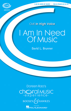 Product Cover for I Am in Need of Music