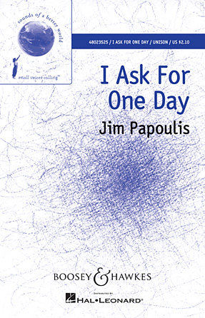 Product Cover for I Ask for One Day