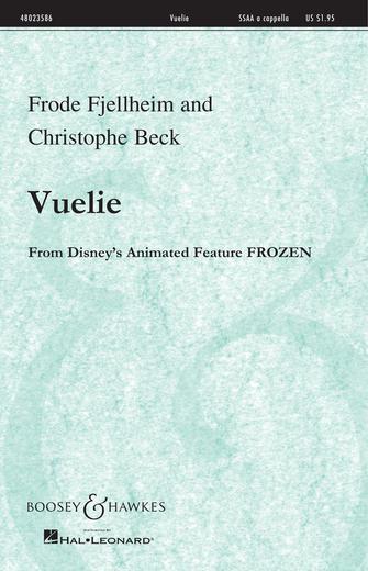Vuelie : SSAA : Frode Fjellheim : Frode Fjellheim : Frozen : Sheet Music : 48023586 : 888680078423