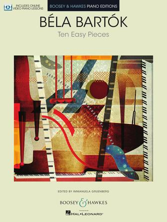 Product Cover for Ten Easy Pieces for Piano