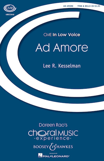 Ad Amore : TTBB : Lee Kesselman : Lee Kesselman : Sheet Music : 48023646 : 888680091231