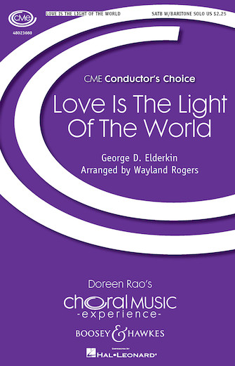 Product Cover for Love Is the Light of the World