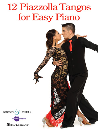 Product Cover for 12 Piazzolla Tangos for Easy Piano
