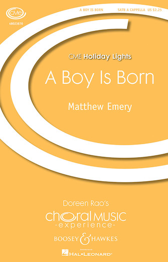 Product Cover for A Boy Is Born