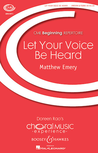 Product Cover for Let Your Voice Be Heard