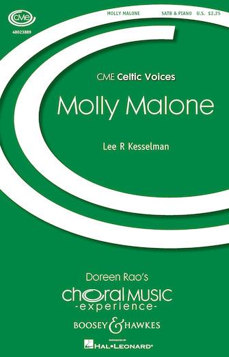 Molly Malone : SATB : Lee Kesselman : Sheet Music : 48023889 : 888680640033
