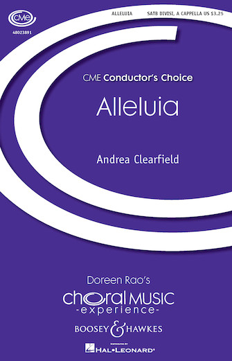 Alleluia : SATB : Andrea Clearfield : Andrea Clearfield : Sheet Music : 48023891 : 888680640118