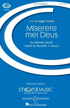 Product Cover for Miserere Mei Deus