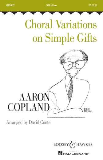 Choral Variations On Simple Gifts : SATB : David Conte : Aaron Copland : Sheet Music : 48024079 : 888680686482