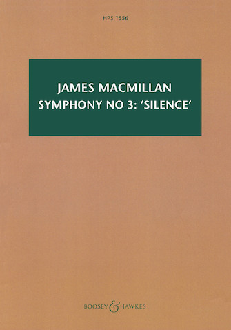 Product Cover for Symphony No. 3: 'Silence'