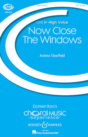 Now Close the Windows : SSAA : Andrea Clearfield : Andrea Clearfield : Sheet Music : 48024166 : 888680703035