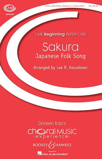 Sakura : Unison : Lee Kesselman : Lee Kesselman : Sheet Music : 48024250 : 888680716912