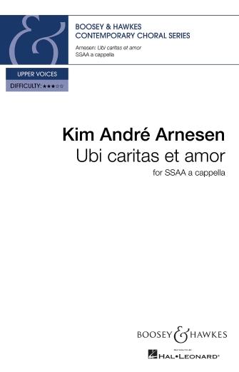 Ubi caritas et amor : SSAA :  :  : Sheet Music : 48024476 : 888680932312 : 1784544825