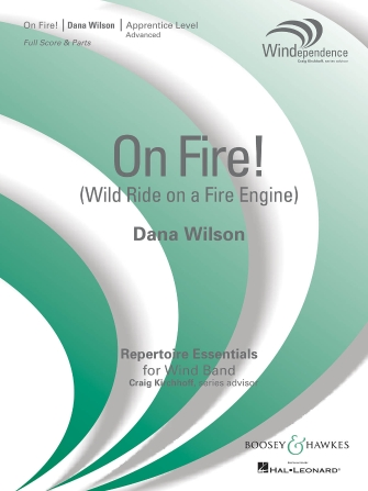 Product Cover for On Fire! (Wild Ride on a Fire Engine)