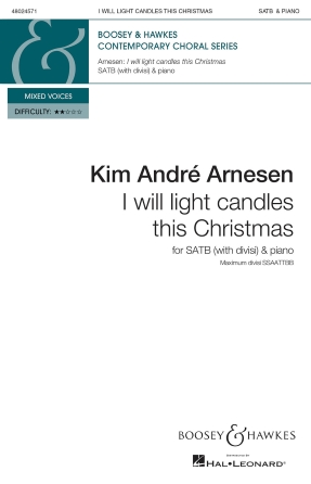 Product Cover for I Will Light Candles This Christmas