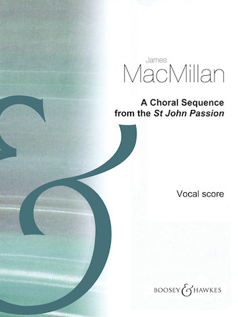Product Cover for A Choral Sequence from the St John Passion