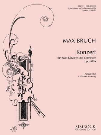 Product Cover for Concerto for Two Pianos (and Orchestra), Op. 88a