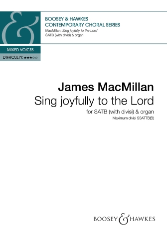 Product Cover for Sing Joyfully to the Lord