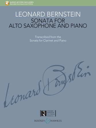 Product Cover for Sonata for Alto Saxophone and Piano