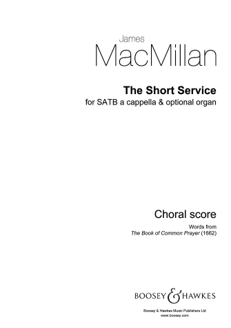 Product Cover for The Short Service