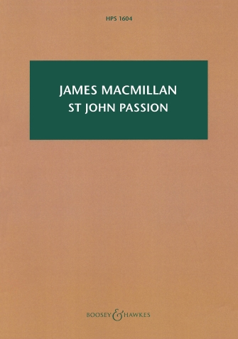 Product Cover for St John Passion