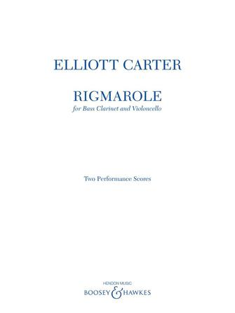 Product Cover for Rigmarole