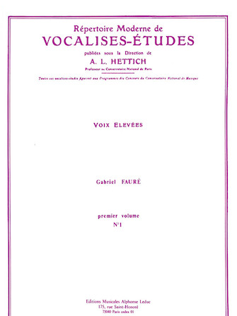 Product Cover for Répertoire Moderne de Vocalises-Etudes