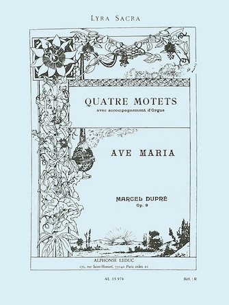 Product Cover for Quatre Motets – Ave Maria, Op. 9