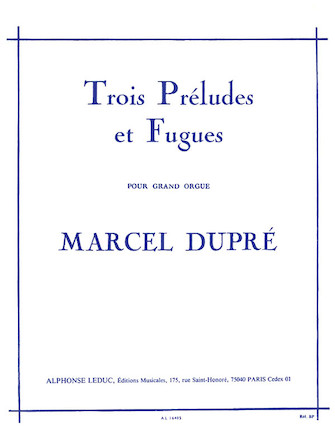 Product Cover for Trois Preludes et Fugues