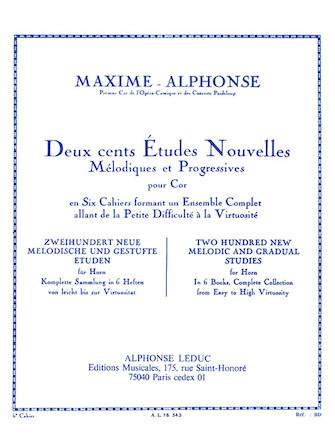 Product Cover for Deux Cents Etudes Nouvelles Melodiques et Progressives