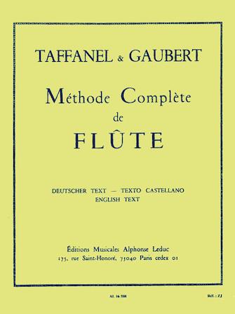 Product Cover for Méthode Complete de Flute