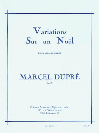 Product Cover for Variations Sur un Noël pour Grand Orgue