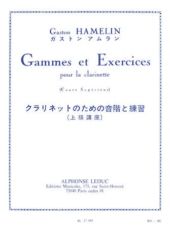Product Cover for Gammes et Exercises pour la Clarinette