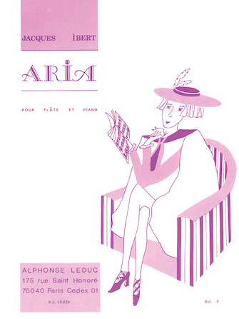 Product Cover for Aria pour Flute et Piano