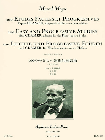 Product Cover for 100 Easy and Progressive Studies After Cramer for Flute