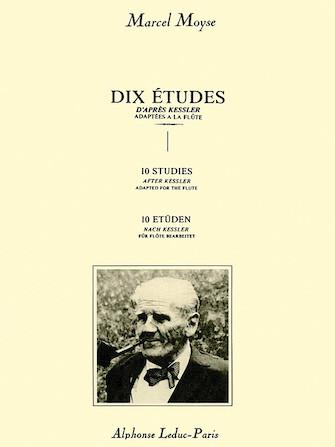Product Cover for Dix Etudes d'Apres Kessler