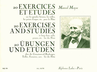 Product Cover for 20 Exercices et Etudes pour Flute