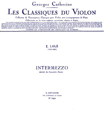 Product Cover for Intermezzo – Classiques No. 349