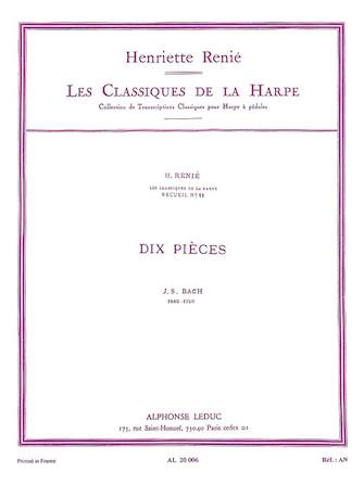 Product Cover for Les Classiques de la Harpe – Volume 11