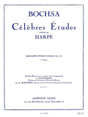 Product Cover for Celebrated Studies for Harp – 40 Easy Studies Vol. 2