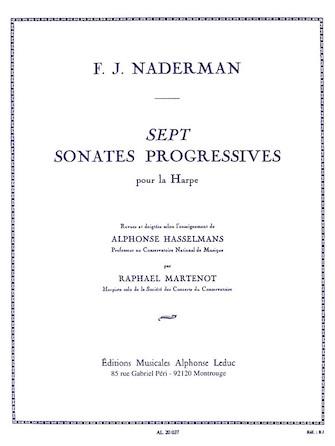 Product Cover for Sept Sonates Progressives pour la Harpe