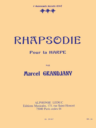 Product Cover for Rhapsody for Harp