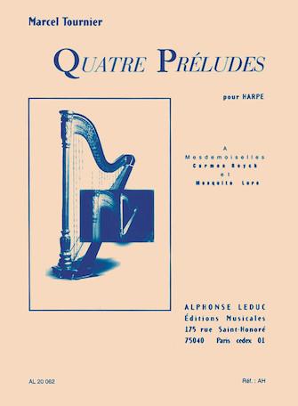 Product Cover for Quatre Préludes pour Harpe